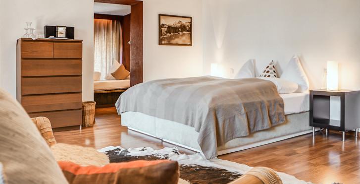 Chambre double Sud «Aroma» - Hôtel Seehof Arosa - Forfait ski