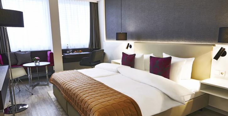 Chambre double Superior - Steigenberger Hotel Köln