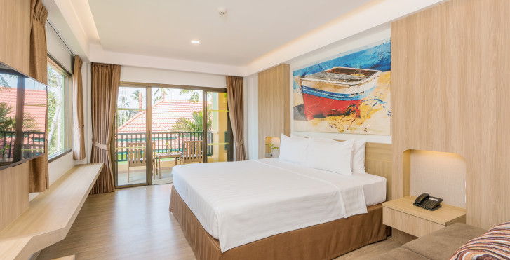 Chambre double Deluxe - Chaba Cabana Beach Resort
