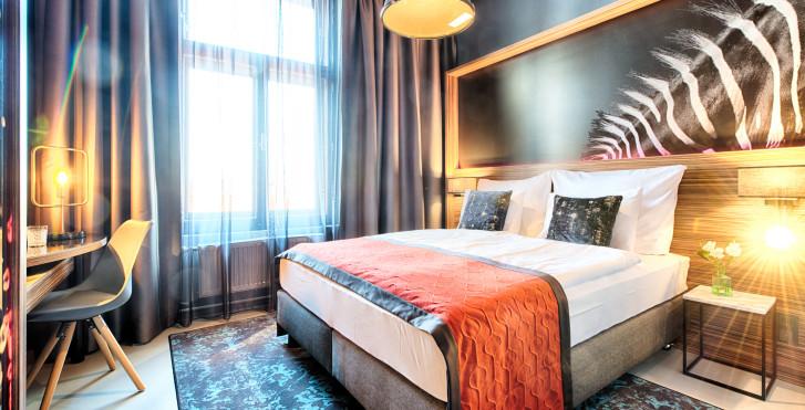 Chambre double - NYX Hôtel Prague