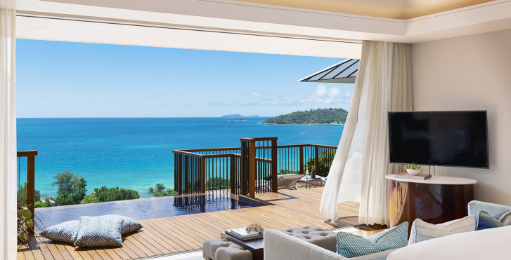 Villa Panoramic Pool - Raffles Seychelles