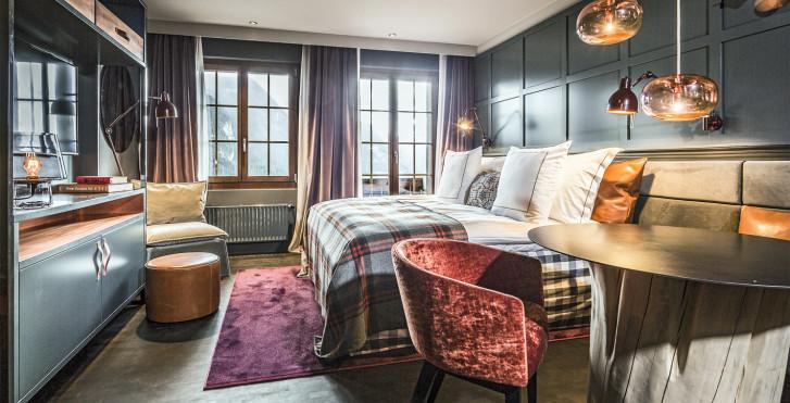 chambre double - Hotel HUUS - Forfait ski