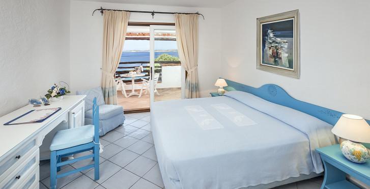 Doppelzimmer Meersicht im Hauptgebäude - La Bisaccia