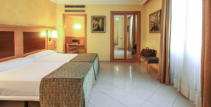 chambre double - Hôtel Nouvel