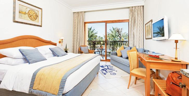 Doppelzimmer Classic Garten-/Poolsicht - Mövenpick Resort & Marine Spa Sousse