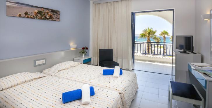 Doppelzimmer Meersicht - The Aeolos Beach Hotel