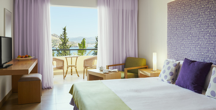 Chambre double vue mer - Lindos Mare