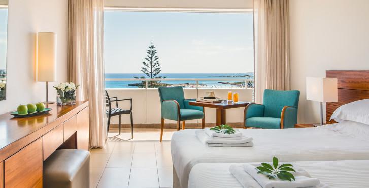 Doppelzimmer mit Meersicht - Nissi Beach Resort