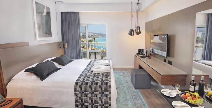 Chambre double Deluxe - Okeanos Beach