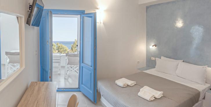Doppelzimmer mit Meersicht - Perissa Bay