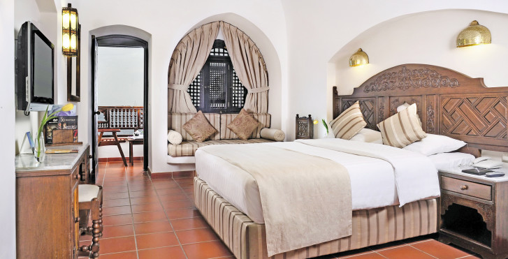 Doppelzimmer Deluxe Panorama Meersicht - Mövenpick Resort Sharm el-Sheikh