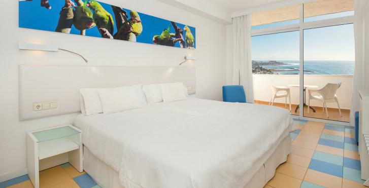 Doppelzimmer  Meersicht - Iberostar Bouganville Playa