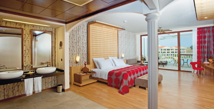 Chambre double Deluxe - Hotel Defne Kumul Suites