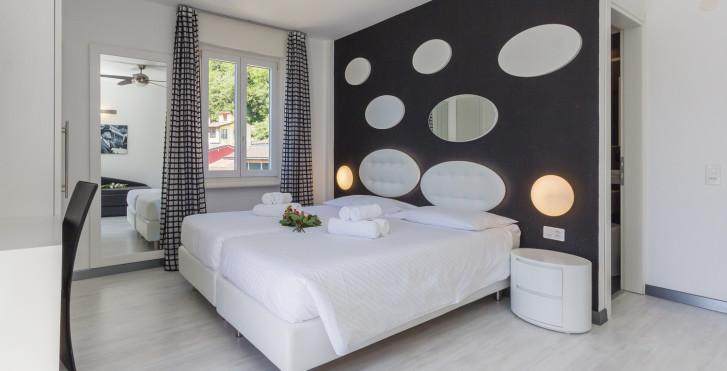 Chambre double - Hôtel Riviera