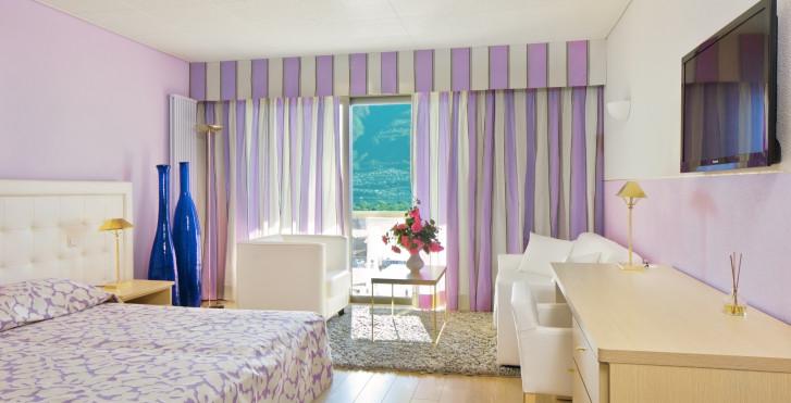 Chambre double Superior - Hôtel Ascona