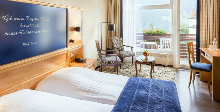 Doppelzimmer - Hotel Kreuz & Post - Skipauschale