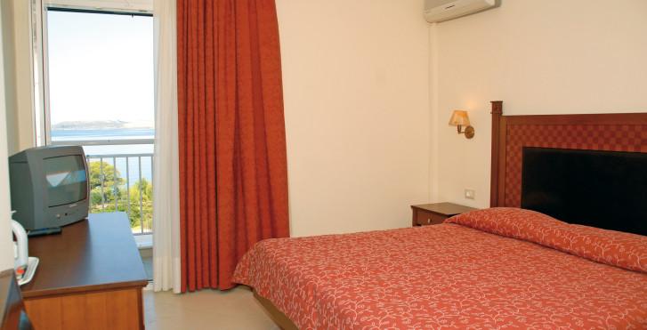 chambre double - Lassi Hotel