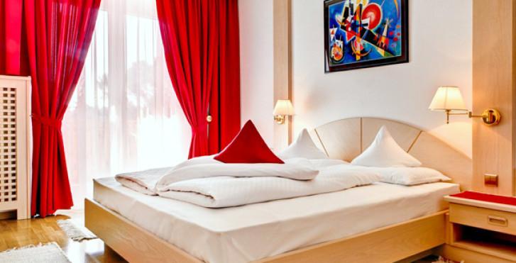 Chambre double - Hôtel Brunner
