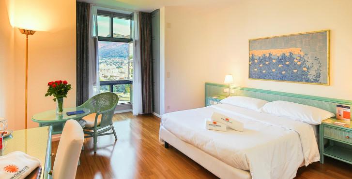 Doppelzimmer Comfort - Villa Sassa Hotel, Residence & Spa