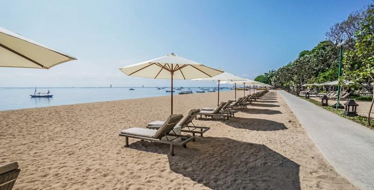 Plage de l'hôtel - Hyatt Regency Bali