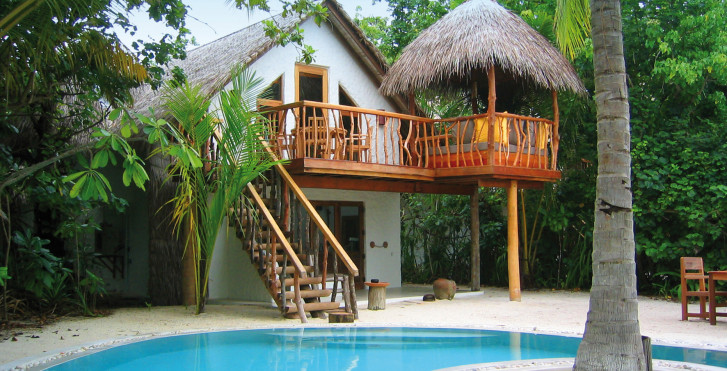 Crusoe Villa mit Schwimmbad - Soneva Fushi