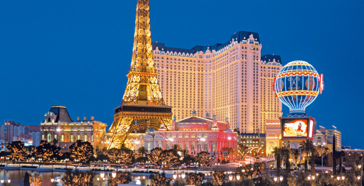 accrocher des taches à Las Vegas