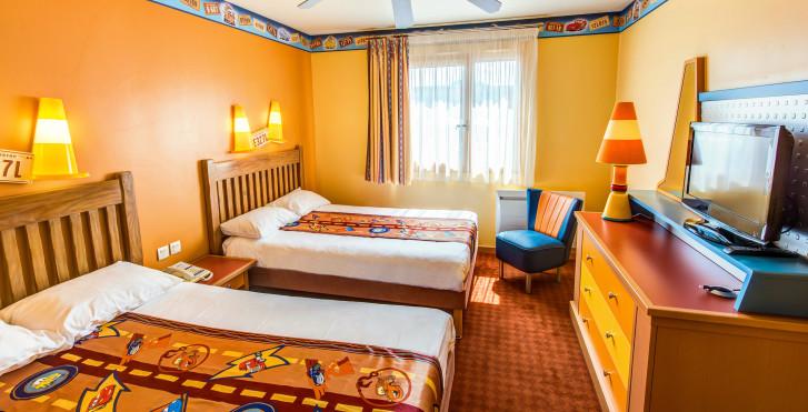 chambre standard - Disney's Hôtel Santa Fe - incl. entrée parc