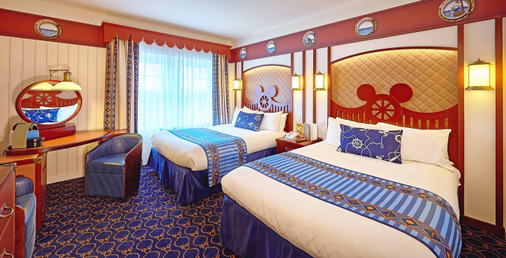 chambre compass club - Disney's Newport Bay Club -  incl. petit déjeuner + entrée parc