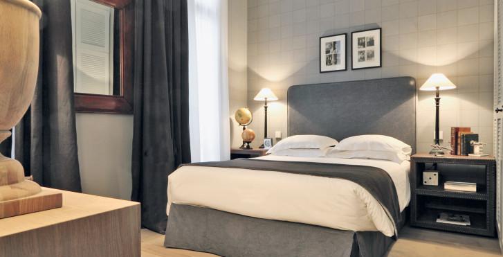 exemple chambre standard - New Hotel Roblin