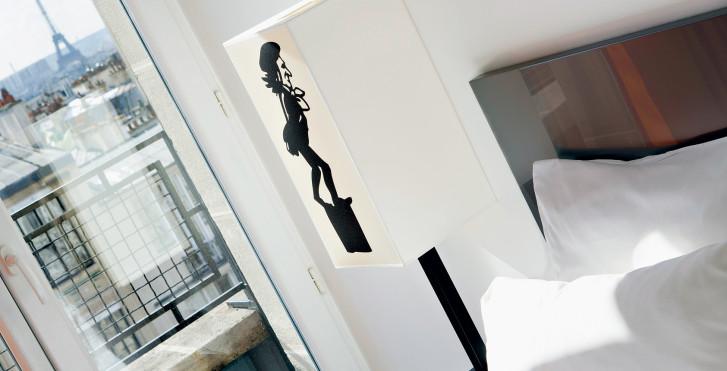 Zimmerbeispiel - Le Chat Noir Design Hotel