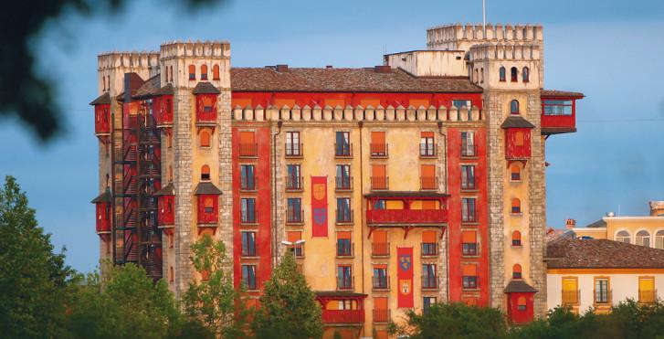 Hôtel-château Castillo Alcazar - incl. entrée parc
