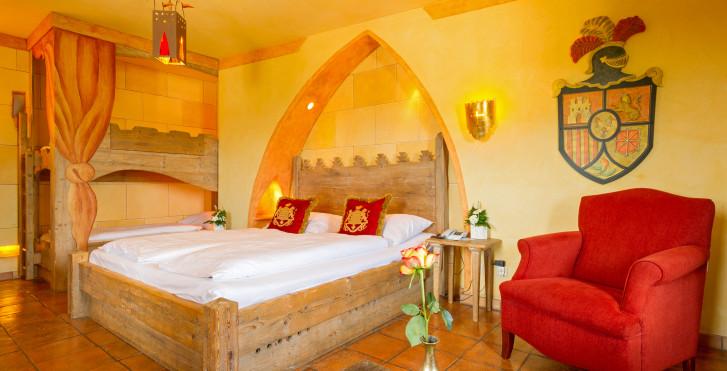 Chambre standard - Hôtel-château Castillo Alcazar - billets d'entrée à Europa-Park incl.