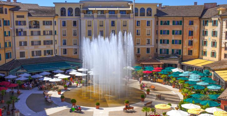 Hôtel thématique Colosseo  - billets d'entrée à Europa-Park incl.