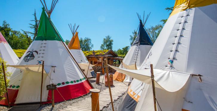 Tipi - Camp Resort - incl. entrée parc
