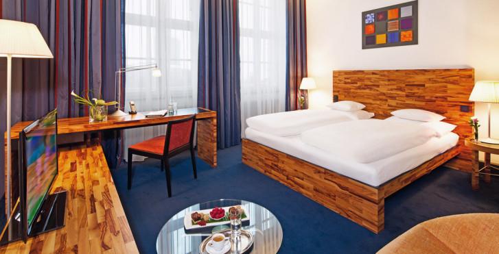 chambre double classique - Mövenpick Hotel Berlin