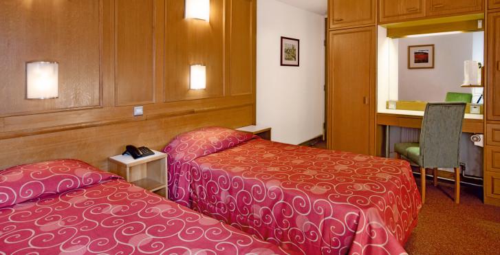 Wohnbeispiel Doppelzimmer - Hotel St. Giles