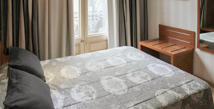 chambre double - Hôtel Ramblas