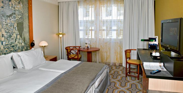 Wohnbeispiel Doppelzimmer - Hotel Am Konzerthaus Vienna - MGallery by Sofitel