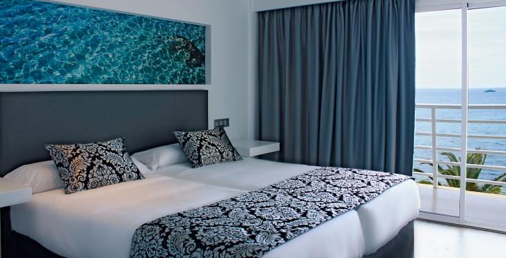 Chambre double vue mer - Nautico Ebeso
