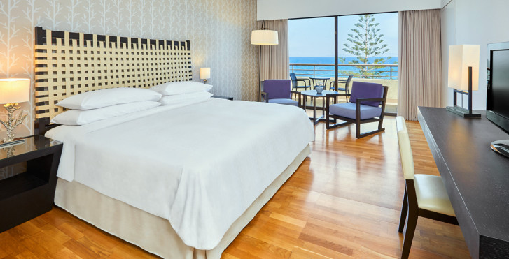 Doppelzimmer Deluxe Meersicht - Sheraton Rhodes Resort