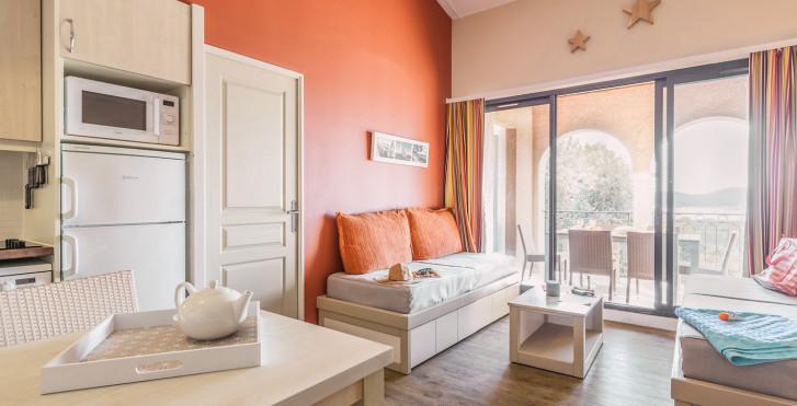 2-Zimmer-Appartement Cabine Superior - Résidence P & V «Les Parcs de Grimaud»