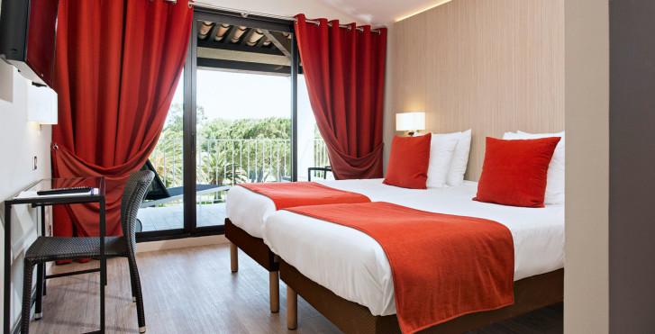Chambre double - Hôtel-résidence Soleil de Saint-Tropez