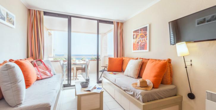 2-Zimmer-Appartement Superior - Résidence P & V «L'Anse de Pramousquier»