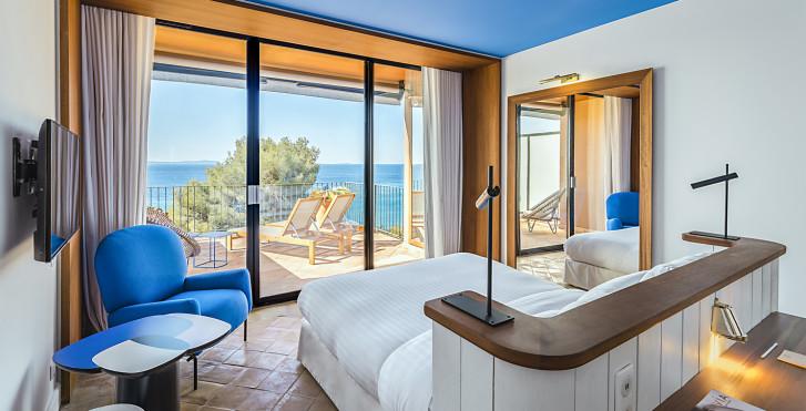 Doppelzimmer - Hotel Le Bailli de Suffren