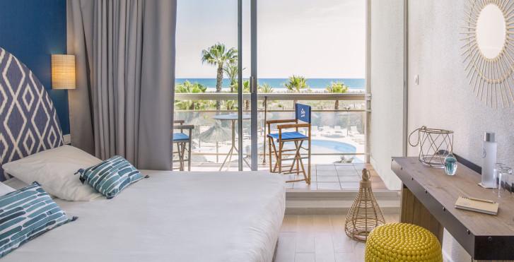 Chambre double - Les Bulles de Mer, Hotel Spa sur la Lagune