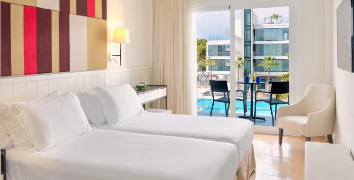 Chambre double vue piscine - H10 Casa del Mar (ex. H10 Playas de Mallorca)
