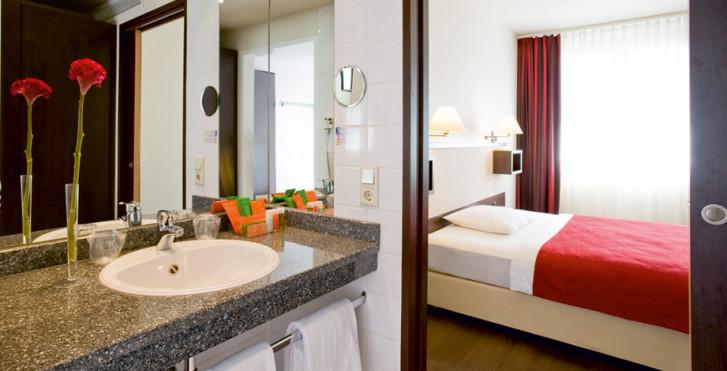 Wohnbeispiel Doppelzimmer - NH Wien City