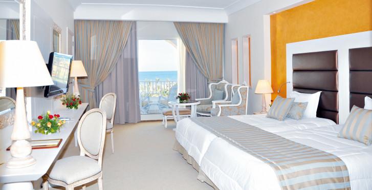 Chambre double vue mer - Hasdrubal Thalassa & Spa Djerba