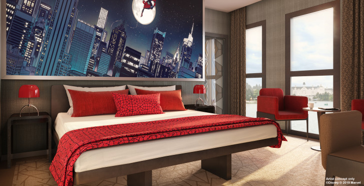 Spiderman Suite - Disney's Hotel New York® - The Art of Marvel - inkl. Parkeintritt