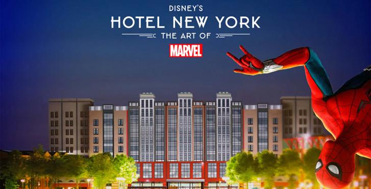 Disney's Hotel New York® - The Art of Marvel - comprenant entrée au parc